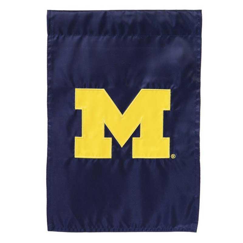 16920B: EG Michigan Applique Garden Flag