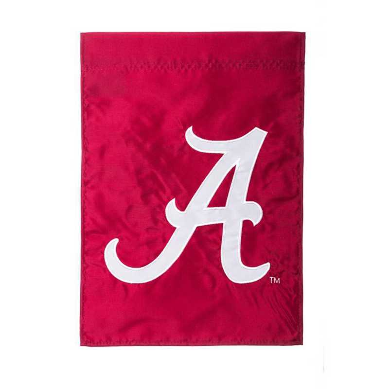 16924E: EG Alabama A Applique Garden Flag