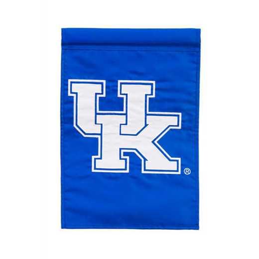 16944D: EG Kentucky Applique Garden Flag