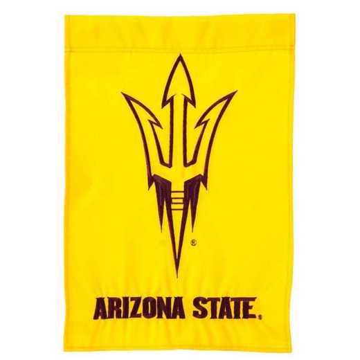 16947D: EG Arizona State Applique Garden Flag