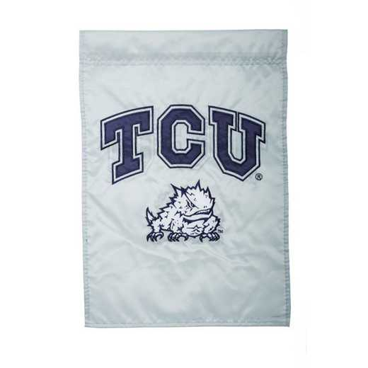 16960C: EG TCU Applique Garden Flag