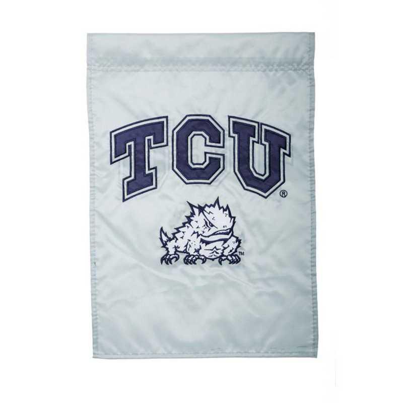 16960C: EG TCU Applique Garden Flag
