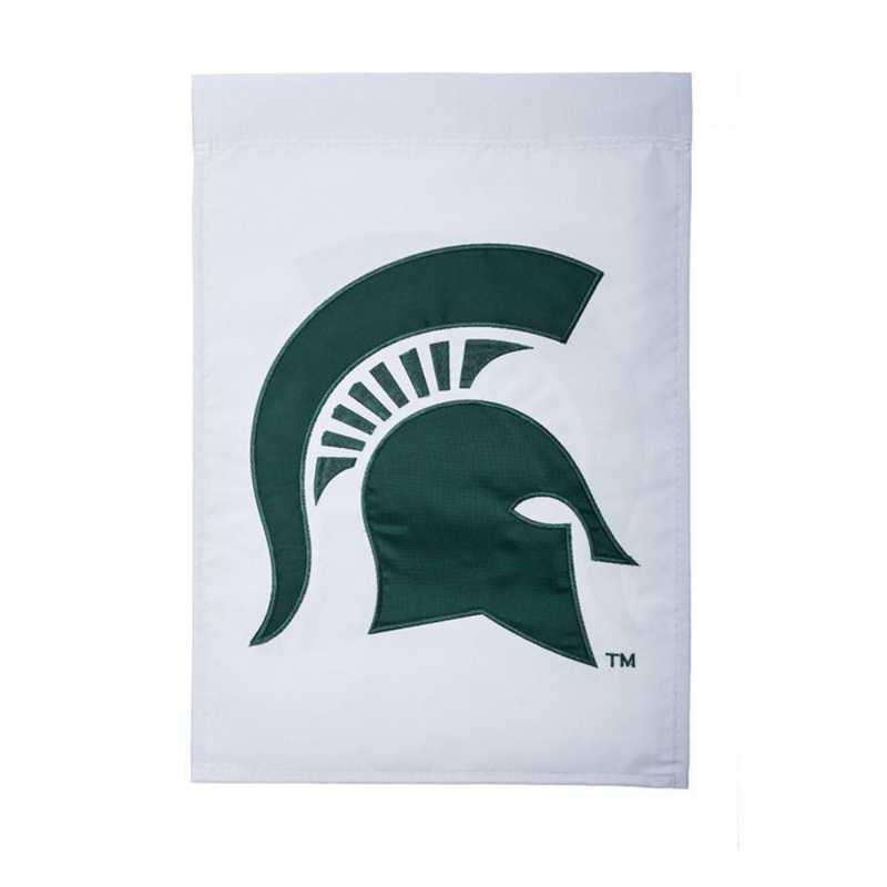 16971B: EG Michigan State Applique Garden Flag