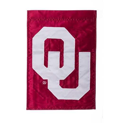 16974B: EG Oklahoma Applique Garden Flag