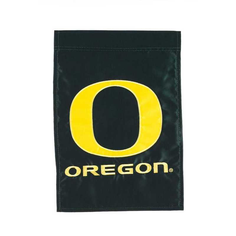 16986B: EG Oregon Applique Garden Flag