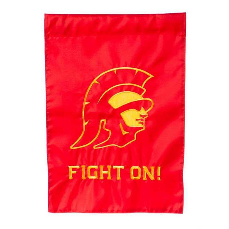 16997C: EG Southern Cal Applique Garden Flag