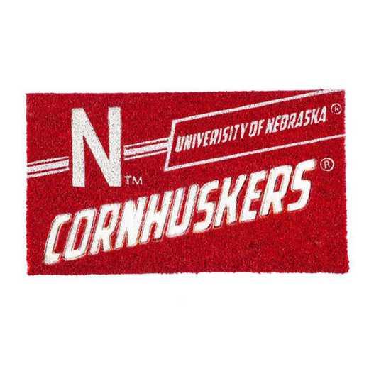 2RMP949: EG University of Nebraska, Coir Punch Mat