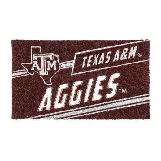 2RMP969: EG Texas A&M, Coir Punch Mat