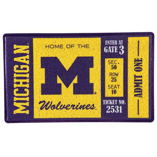 41LM920: EG Turf Mat, University Of Michigan