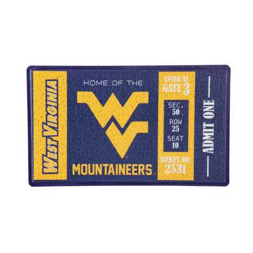 41LM967: EG Turf Mat, West Virginia University