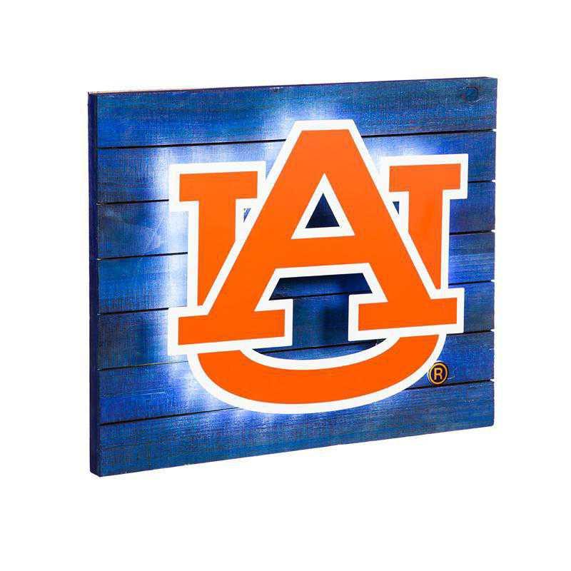 6WLT928: EG Lit Wall Decor, Auburn University