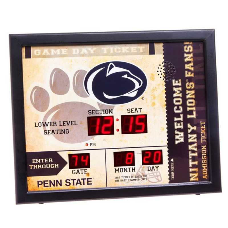 7CL922: EG BT SB WALL CLOCK, Penn State