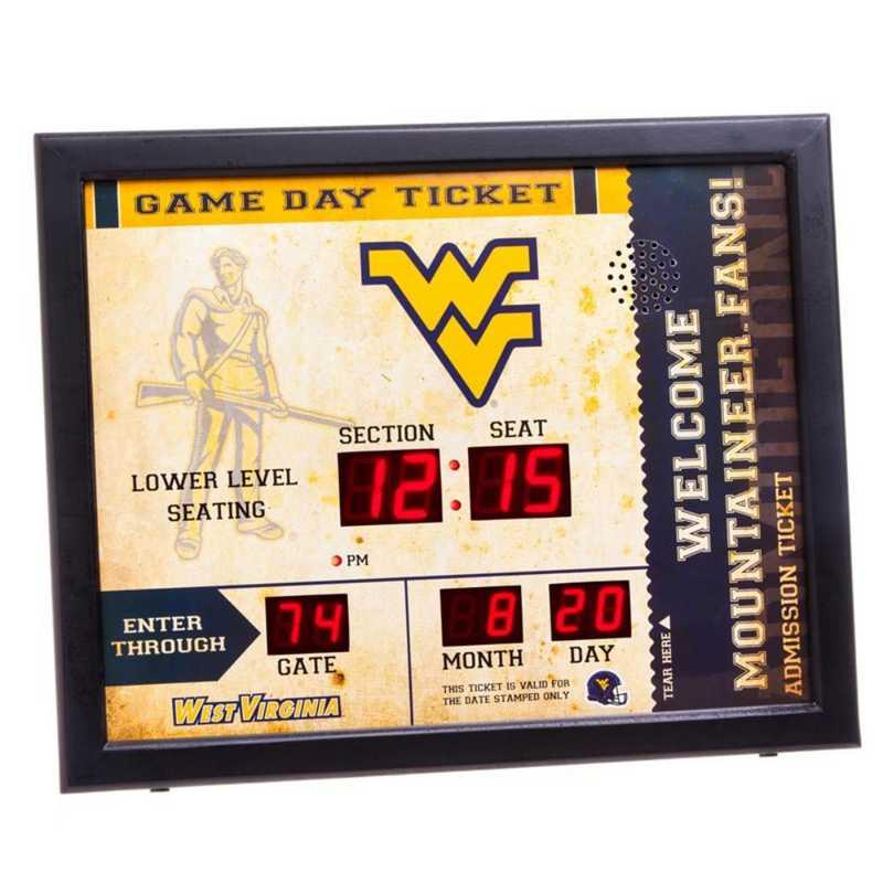 7CL967: EG BT SB WALL CLOCK, West Virginia