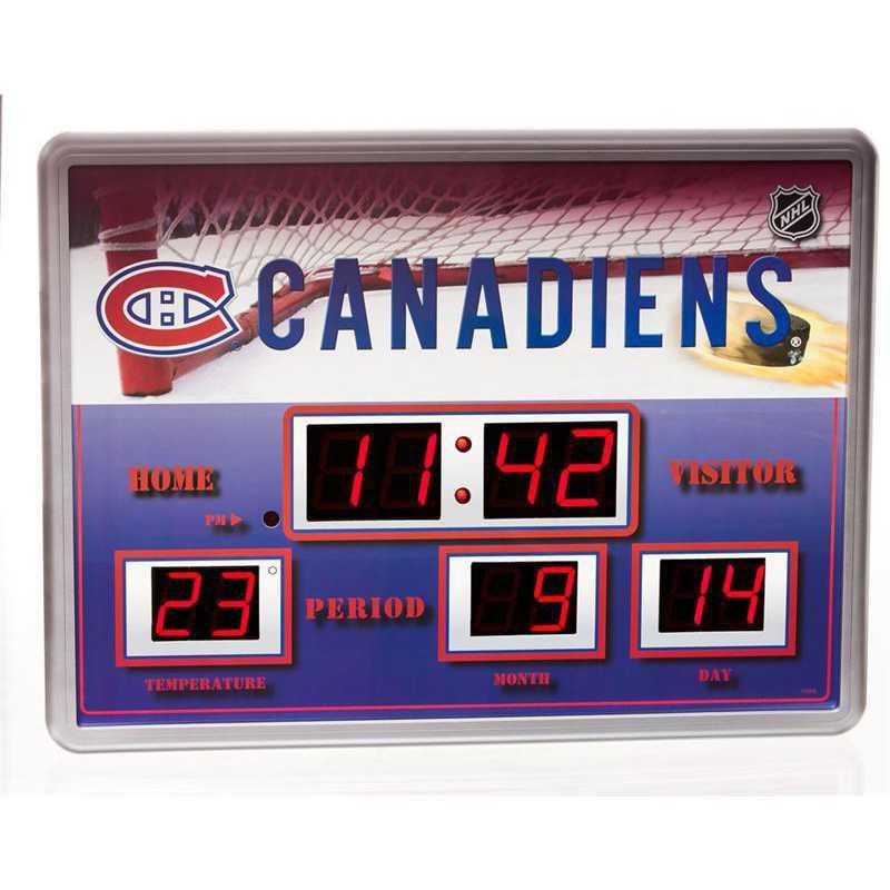 01274364: Scoreboard Clock, Montreal Canadiens
