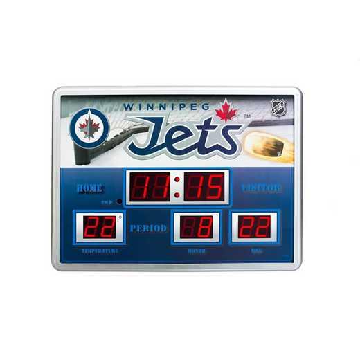 01274379: Scoreboard Clock, Winnipeg Jets