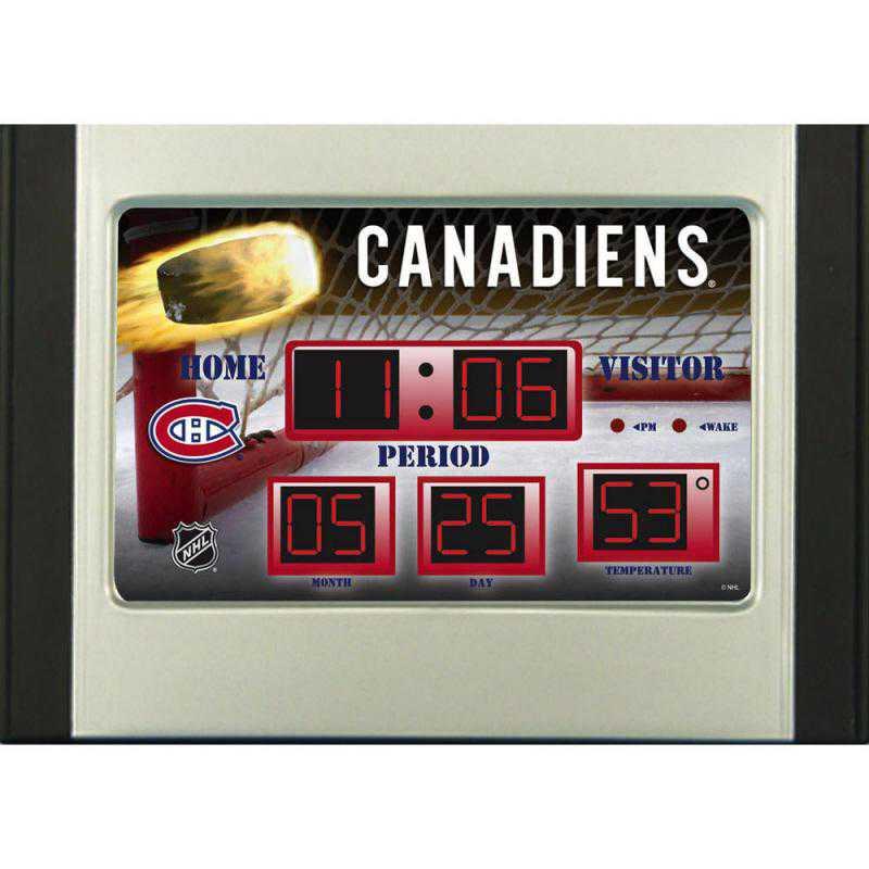 01284364: Scoreboard Clock, Montreal Canadiens