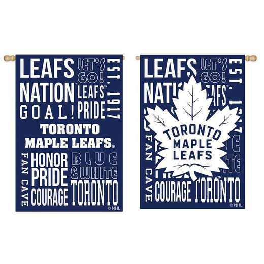 13ES4376FR: EG Fan Rules Flag, Toronto Maple Leafs