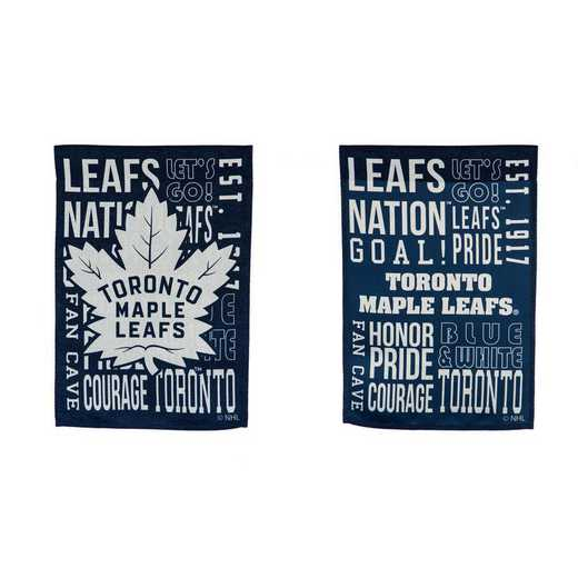 14ES4376FR: EG Fan Rules Garden Flag, Toronto Maple Leafs