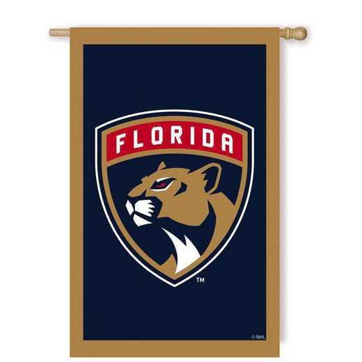 154361: EG Applique Flag, Florida Panthers