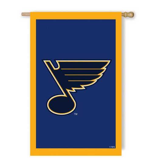 154374: EG Applique Flag, St Louis Blues