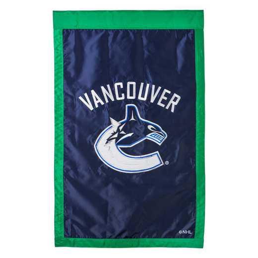 154377: EG Applique Flag, Vancouver Canucks