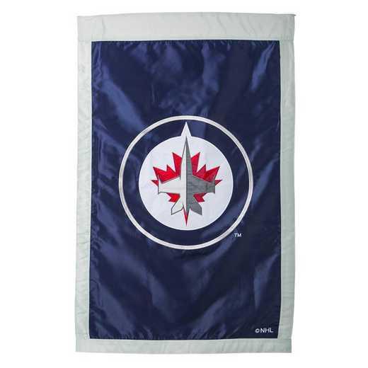 154379: EG Applique Flag, Winnipeg Jets