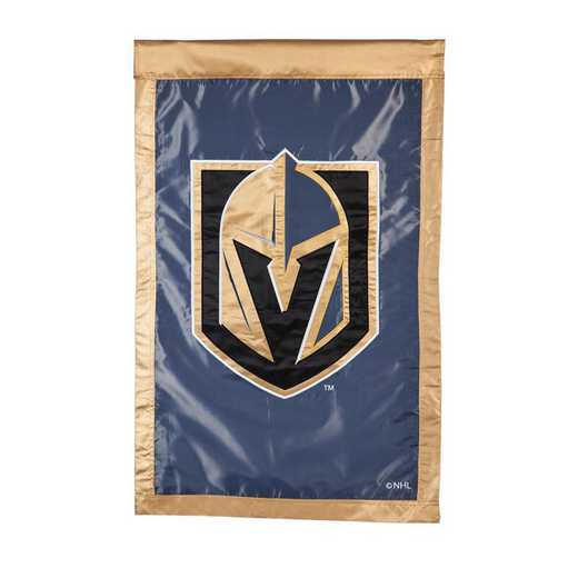 154380: EG Applique Flag Vegas Golden Knights