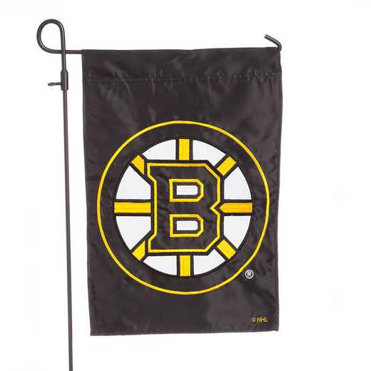 164351: EG Applique Garden Flag Boston Bruins