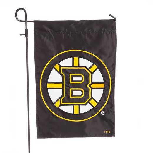 164351: EG Applique Garden Flag Boston Bruins