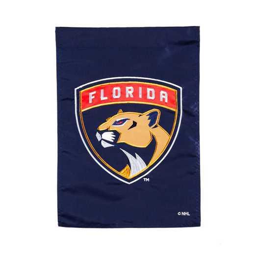 164361: EG Applique Garden Flag Florida Panthers