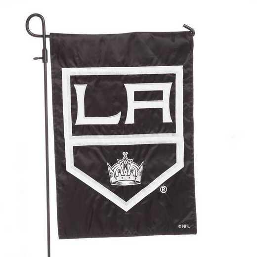 164362: EG Applique Garden Flag Los Angeles Kings