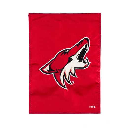 164371: EG Applique Garden Flag Phoenix Coyotes
