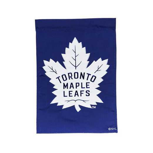 164376B: EG Appique Garden Flag Toronto Maple Leafs