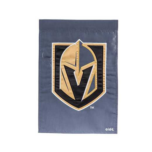 164380: EG Applique Garden Flag, Vegas Golden Knights