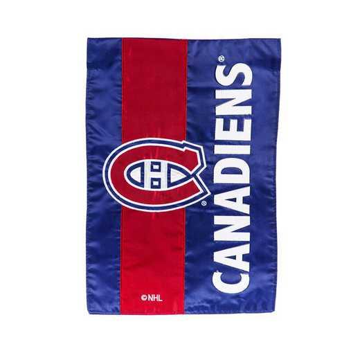 16SF4364: EG Embellished Garden Flag Montreal Canadiens