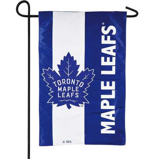 16SF4376: EG Embellished Garden Flag Toronto Maple Leafs