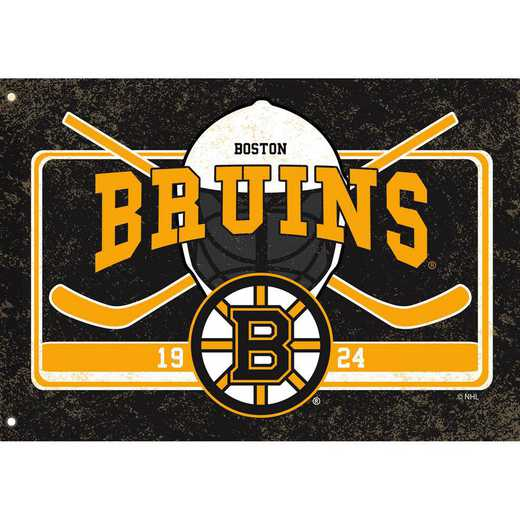 17L4351: EG Linen Estate Flag, Boston Bruins