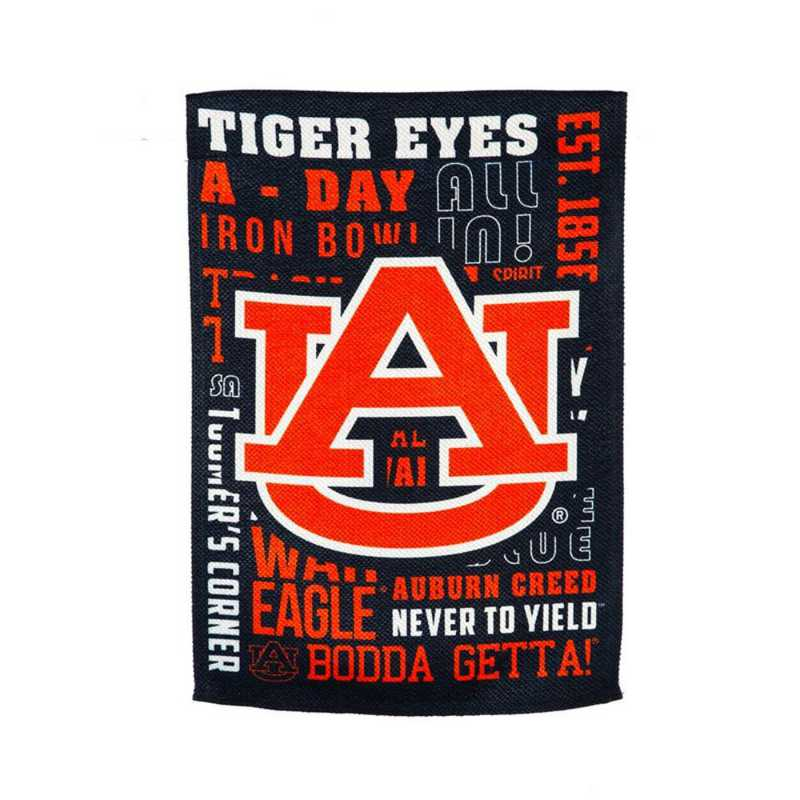 13ES928FR: EG Auburn Fan Rules Flag