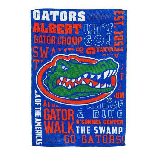 13ES939FR: EG Florida Fan Rules Flag