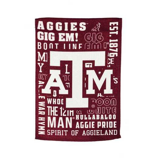 13ES969FR: EG Texas A&M Fan Rules Flag