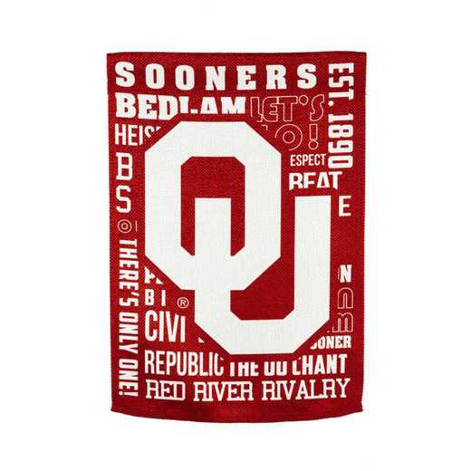 13ES974FR: EG Oklahoma Fan Rules Flag