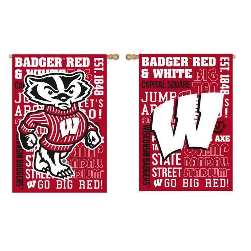 13ES984FR: EG Wisconsin Fan Rules Flag