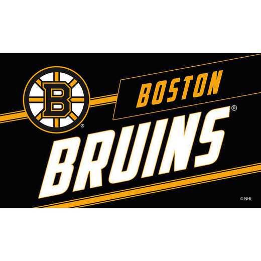 2RMP4351: EG Coir Punch Mat, Boston Bruins