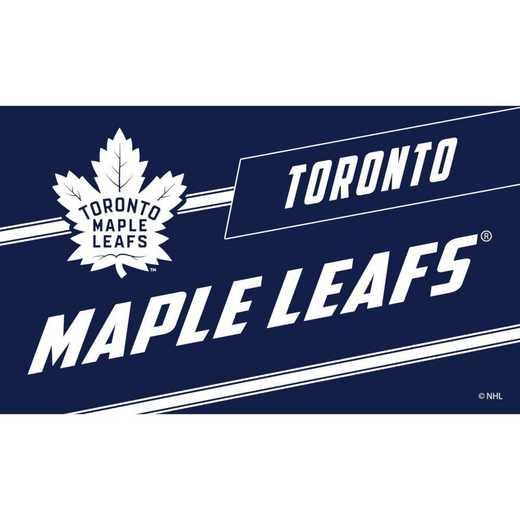 2RMP4376: EG Coir Punch Mat, Toronto Maple Leafs