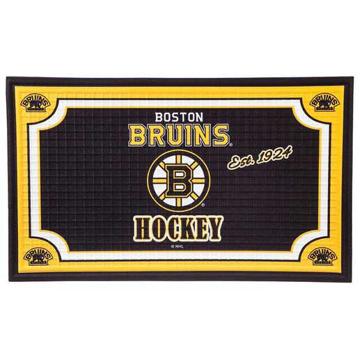 41EM4351: EG Embossed Door Mat, Boston Bruins
