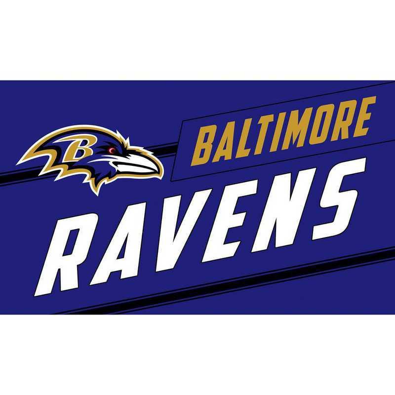2RMP3802: EG Baltimore Ravens, Coir Punch Mat