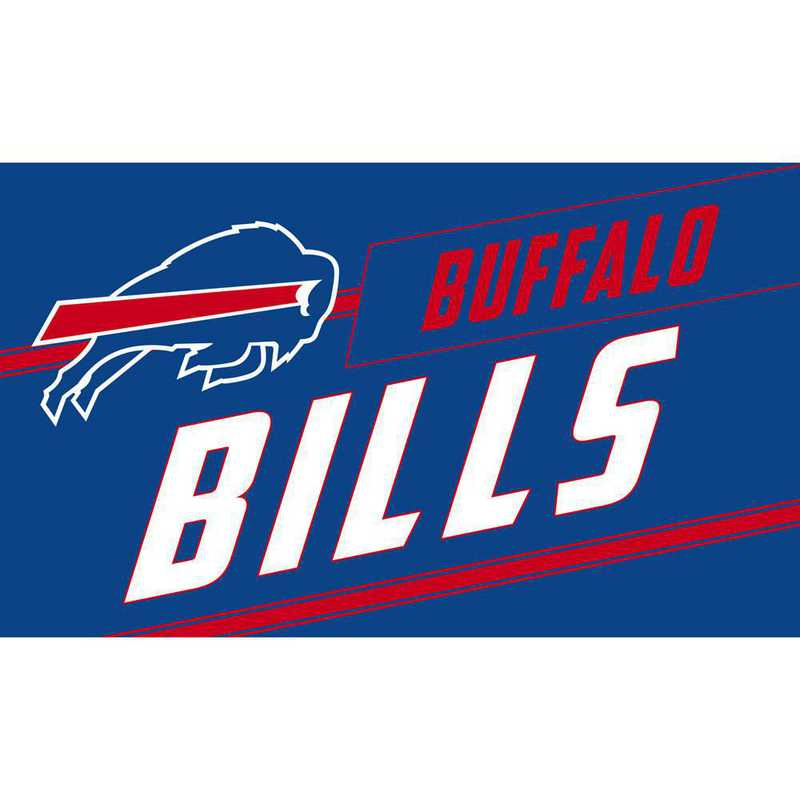 2RMP3803: EG Buffalo Bills, Coir Punch Mat
