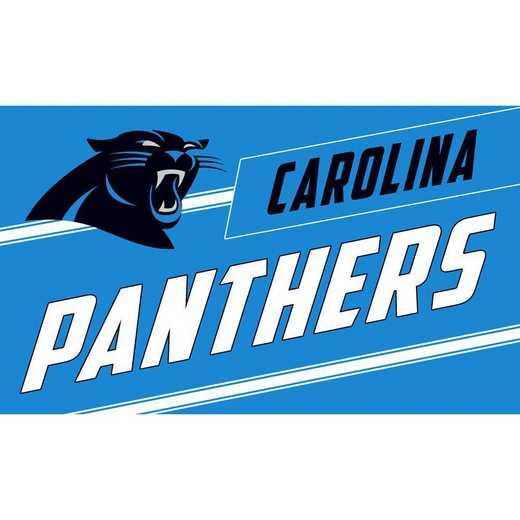 2RMP3804: EG Carolina Panthers, Coir Punch Mat