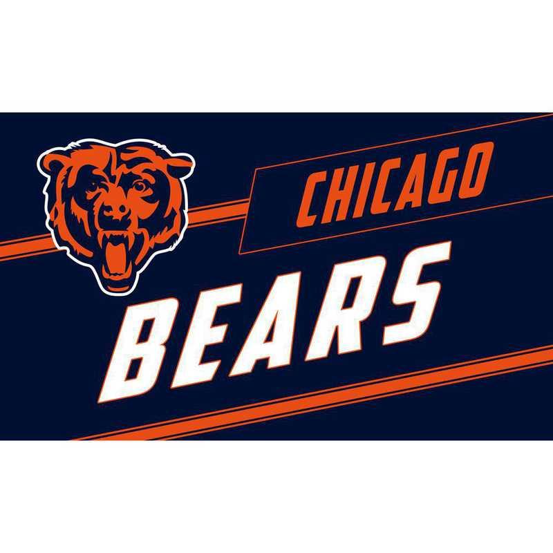 2RMP3805: EG Chicago Bears, Coir Punch Mat