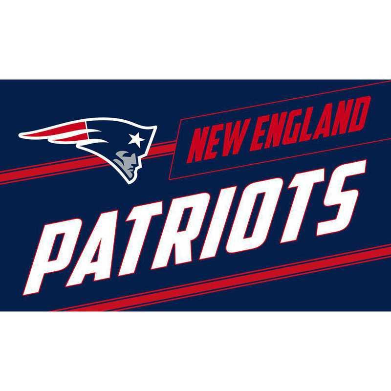2RMP3818: EG New England Patriots, Coir Punch Mat